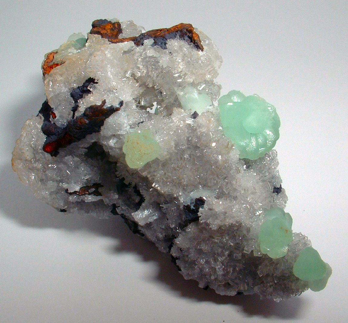 Smithsonite Hemimorphite