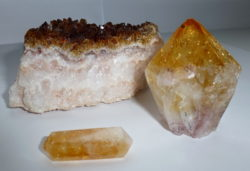 citrine crystal specimens