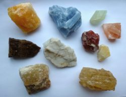 calcite specimen group