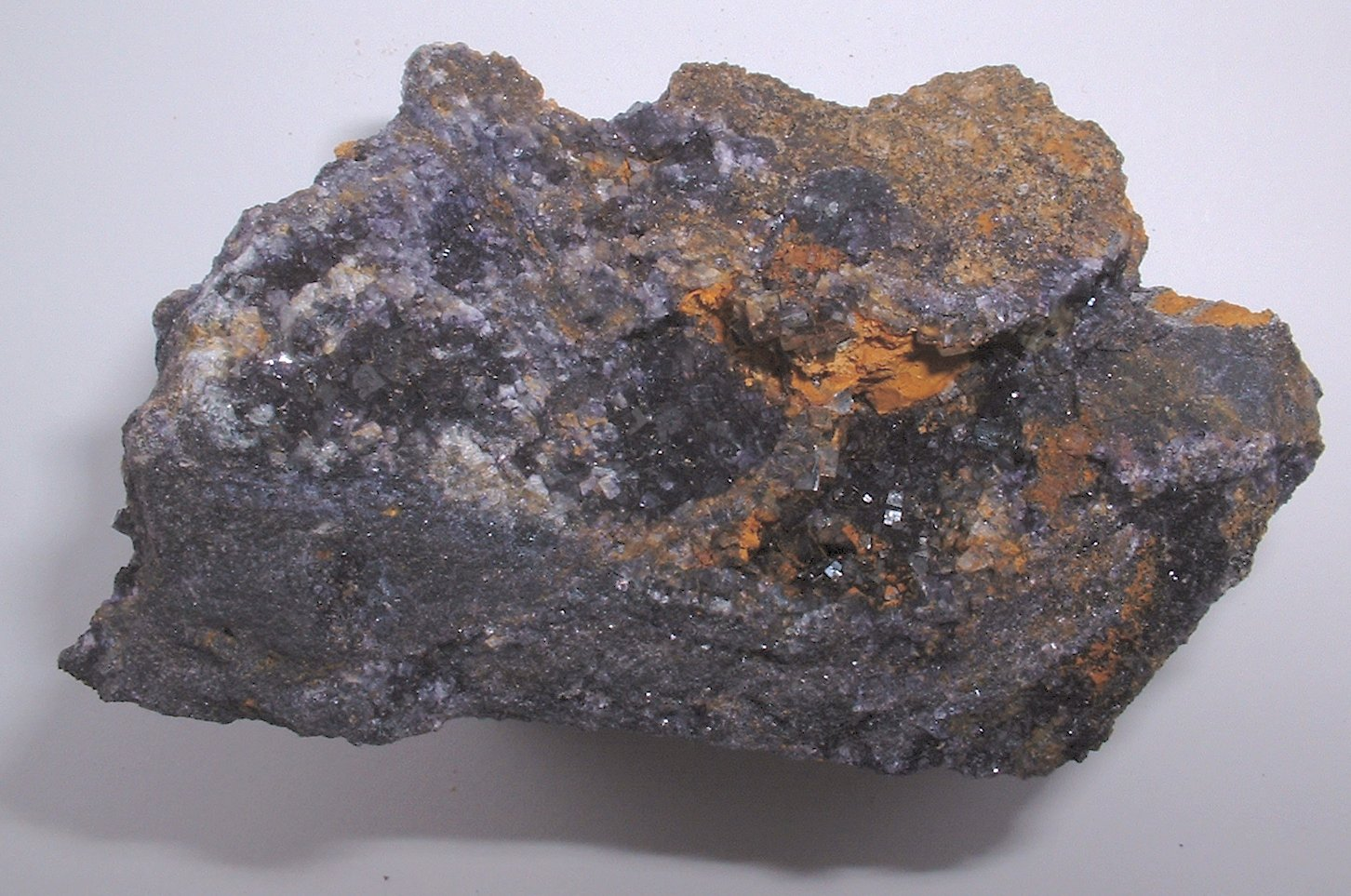 blue fluorite Eyam Milldam mine