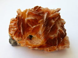 Barite with Galena Morocco