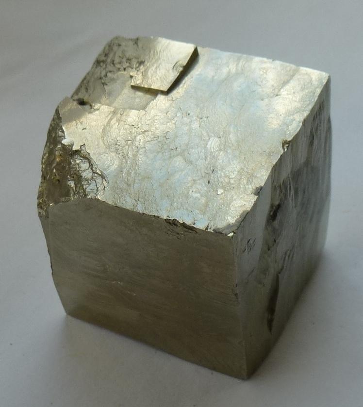 pyrite cube Navajun, Spain