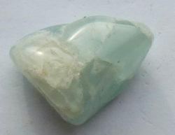 polished aquamarine
